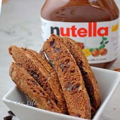 Nutella Biscotti... absolutely irresistible!!