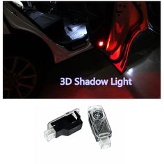 Car Light Assembly  2PCS LED  Laser Lamp Ghost Shadow Projector  Welcome Warning Courtesy Logo Light  for AUDI Audi A6 A1 A3 A4 C5 80 A7 Q3 Q5 Q7 TT * Find similar products on AliExpress website by clicking the image