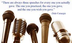 Successful Speeches: http://arizona.dalecarnegie.com/events/successful_public_speaking/
