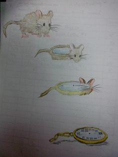 Virginia Heinl's ART Blog 8th grade sketchbook metamorphosis