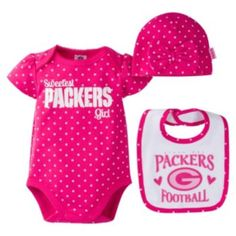 Sports Mem, Cards & Fan Shop Outerstuff Nfl Infant Girls Minnesota Vikings Assorted 3 Pack Creeper Set Utmost In Convenience Fan Apparel & Souvenirs
