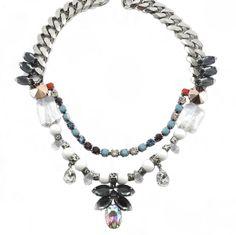 MILTON-FIRENZE Jewelry URBAN CHIC DROP NECKLACE https://www.facebook.com/pages/MILTON-FIRENZE/237831466369428 http://www.boutiqueonclick.com/boutique/Milton-Firenze