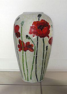 Judith Scallon Poppy Vase
