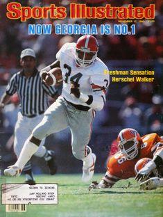 College Football Players, Sec Football, Football University, School Football, Sports Ilustrated, Si Cover, Georgia Bulldogs Football, Sports Illustrated Covers, Tatoo