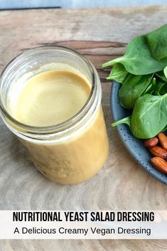 This Glory Bowl Dressing Recipe is inspired from the white water cooks recipe book is a must try. The nutritional yeast salad dressing recipe is made with, tamari, apple cider vinegar, tahini, garlic resulting in a savory creamy vegan dressing. Glory Bowl Dressing, Nutritional Yeast Recipes, Detox Salad, Salad Dressing Recipes, Tahini Dressing Salad, Vegan Salad Dressings, Salad Recipes, Vegan Sauces, Comfort Food