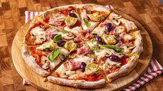 Pizza capriciosa Vegetable Pizza, The Creator, Vegetables, Facebook, Food, Essen, Vegetable Recipes, Meals, Yemek