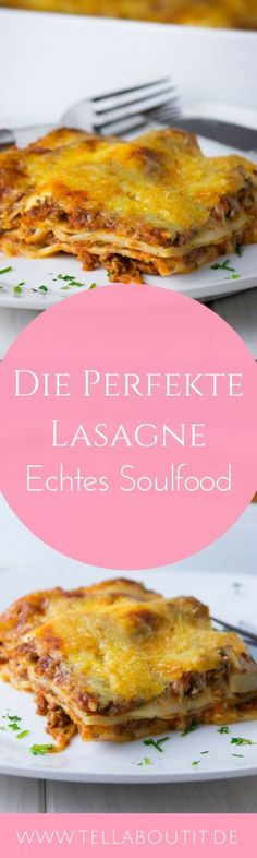 Ein Klassiker! Du suchst das perfekte italienische Lasagne Rezept? Hier ist es - mit aromatischer Bolognese + cremiger Bechamel Soße. Das beste Lasagne Rezept für zuhause zum selber kochen.