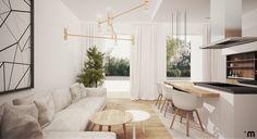 Mieszkanie 80m2, Gdynia, ul. Strzelców, Salon z kuchnią