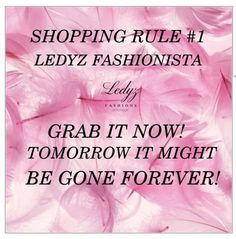 Thank you for shopping our boutique! Ledyz Fashions Boutique features stylish…