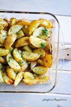pieczone ziołowe ziemniaki