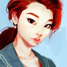 Kai Fine Art is an art website, shows painting and illustration works all over the world. Character Illustration, Illustration Art, You Draw, Art Plastique, Watercolor Print, Art Reference, Female Reference, Art Inspo, Comic Art