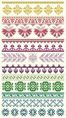 Free Patterns | by Downloads | Page 2 of 27 | Cyberstitchers Cross-Stitch Picture Gallery