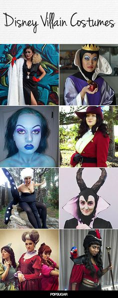 71 best villain costumes images on pinterest costumes cosplay wicked awesome disney villain halloween costumes disney villians costume diydiy solutioingenieria Images