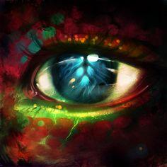 Dragon eye by *ryky on deviantART