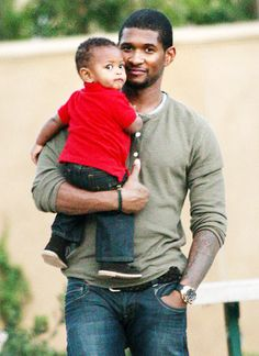 """""""Having not had a father wasn't a reason not to be a good father. That was all of the reason to be a good father, because I didn't have one."""" ~Usher"""