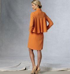 Patron de veste et robe - Vogue 1435