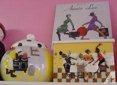 Annie Lee Prints Sale | Annie Lee cookie jars for sale in Mount Carroll, Illinois