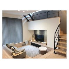 Apartment Interior, Home Decor Bedroom, Interior Design Living Room, Sunken Living Room, Small Living Rooms, One Bedroom House Plans, Living Room Tv Unit Designs, Best Home Interior Design, House Design