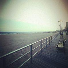 Brighton Beach in Brooklyn, NY