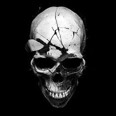 limited colors skull by wacek86.deviantart.com on @DeviantArt
