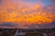 Atardecer en Jimena de la Frontera (Cádiz) / Sunset over Jimena de la Frontera (Cádiz), by @TJDpromo
