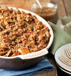 Praline Bread Pudding with Caramel-Pecan Drizzle