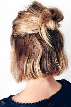 Make everyday a good hair day with these easy hairstyles for busy working moms! These styles look fantastic, yet take next to no time to achieve! Pretty Hairstyles, Easy Hairstyles, Hairstyle Ideas, Hairstyle Short, Hairstyles 2016, Medium Hairstyles, Pixie Hairstyles, Wedding Hairstyles, Pixie Haircuts