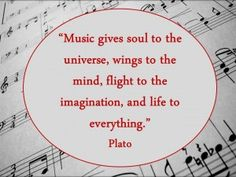 Tons of music quotes <3