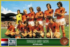 1974 world cup - Netherland squad