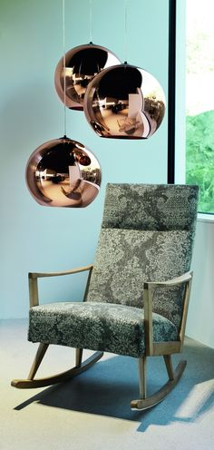 A mixture of styles brings freshness to your interiors. Rocking Chair, Apartments, Branding Design, Bring It On, Interiors, Furniture, Home Decor, Style, Homes