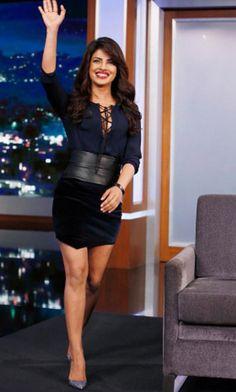 Priyanka Chopra on Jimmy Kimmel