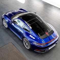 Incredible beautiful Gentian Blue 992 Carrera S Porsche 911 Cabriolet, Porsche 911 Targa, Porsche Turbo S, Porsche Sports Car, Porsche Carrera, Porsche Cars, 911 Turbo, Lamborghini, Ferrari 458
