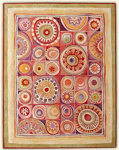 Marianne Burr: Hand Stitched Art - Portfolio 2 this site has the most amazing modern quilts!