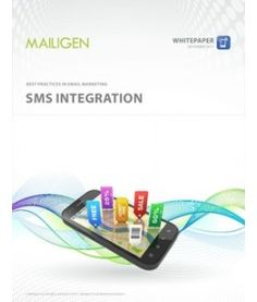 SMS integration in email marketing. SMS text messaging is one of the few marketing channels where you are almost guaranteed your customers will read your offer. Communication through SMS with those who do not respond to email or do not have smartphone is a great way to reach a wider audience.