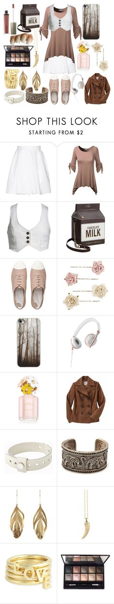 """Ireland Donohue"" by ashlynknight ❤ liked on Polyvore featuring Carven, Kate Spade, FitFlop, Accessorize, Caeden, Marc Jacobs, Old Navy, Cast of Vices, Aurélie Bidermann and Peggy Li"