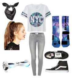 """✨✨"" by yaassgirl on Polyvore featuring Aéropostale, Paige Denim, Vans, ASOS, Alexander McQueen, NIKE, women's clothing, women, female and woman"