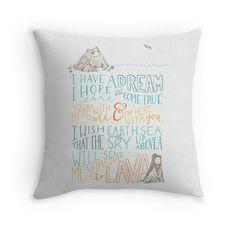 I Lava You   Throw Pillow