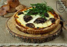 Gotowanie jest łatwe: Tarta grzybowa na spodzie orkiszowym pełnoziarnist...