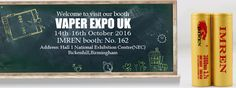 IMREN will be the vape show in UK Birmingham at 14th Oct.-16th Oct.our booth number 162,welcome to visit us there. We will prepare present for u. skype:emily.imr #vaporizer #vaporshark #vapor #vaporcommunity #vaping #vape #boxmod #18650battery #18650mod #modbatteries #vapingsavedmylife #modbatteries #vapordistribution #vapeon #imren #vapeshop #vapeporn #norcalvapers #mesdistributor #vapors #vaporporn #ecigs #electronics #electroniccigaretteshop #imren #imrbattery #imrenbatterys #mod…