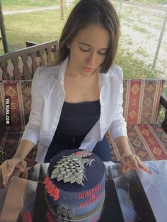 Brace yourself, here is my birthday cake!