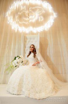 #Bridal #Portrait by #DominoArts #Photography (www.DominoArts.com)