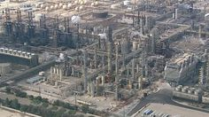 Fire explosion reported at Torrance Refinery police say