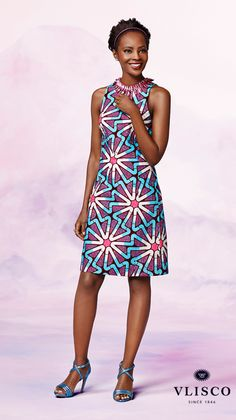 COMPLEMENTARY CONTRAST | Inspirational party dress for wedding occasions | #vlisco #wedding
