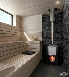 Sauna Steam Room, Sauna Room, Modern Saunas, Sauna Hammam, Piscina Spa, Building A Sauna, Sauna House, Sauna Heater, Casa Retro