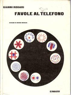 Favole al Telefono by Gianni Rodari, illustrated by Bruno Munari.