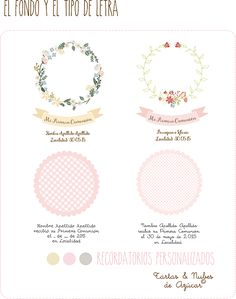 tartas y nubes de azúcar: Primera comunión Baptism Banner, Baby Girl First Birthday, Journal Template, Festa Party, First Holy Communion, Note Paper, Christening, Digital Scrapbooking, Free Printables