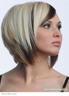a line haircuts and colors | medium two tone bob haircut medium hairstyles gallery