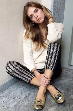 Fashion blogger Chiara Ferragni models for her line, Chiara Ferragni Collection. #Stylish365