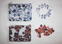 Watercolours&Pattern&Textile by Sandra Aguado