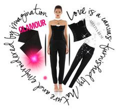 """""""Be glamour! With AdelinaRusu..."""" by soofficial87 ❤ liked on Polyvore"""